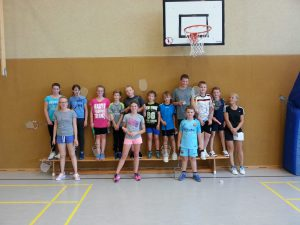 Badminton_Schüler-Training